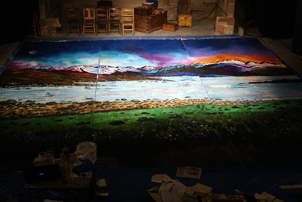 The Kist, Theater Set Back Drop commission completed