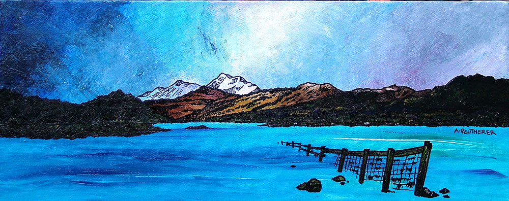Loch Lomond & Trossachs Area, Scotland Paintings and prints Gallery