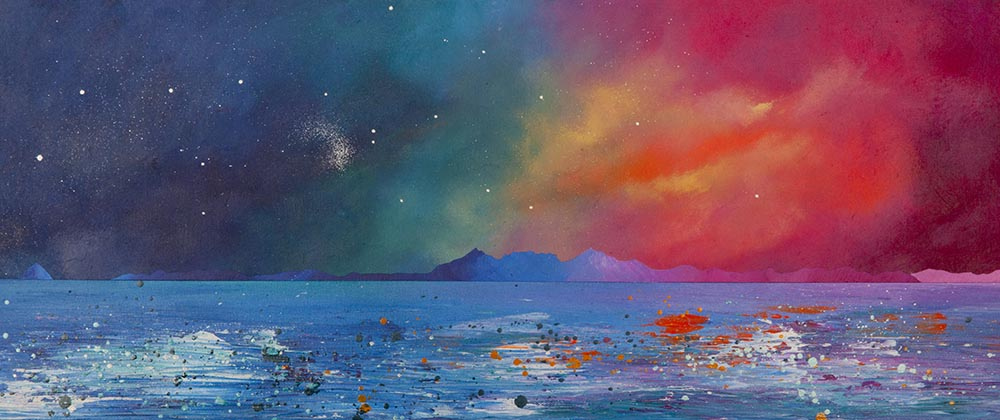 arran, clyde, ailsa craig,  Ayrshire, Scotland Painting and prints.