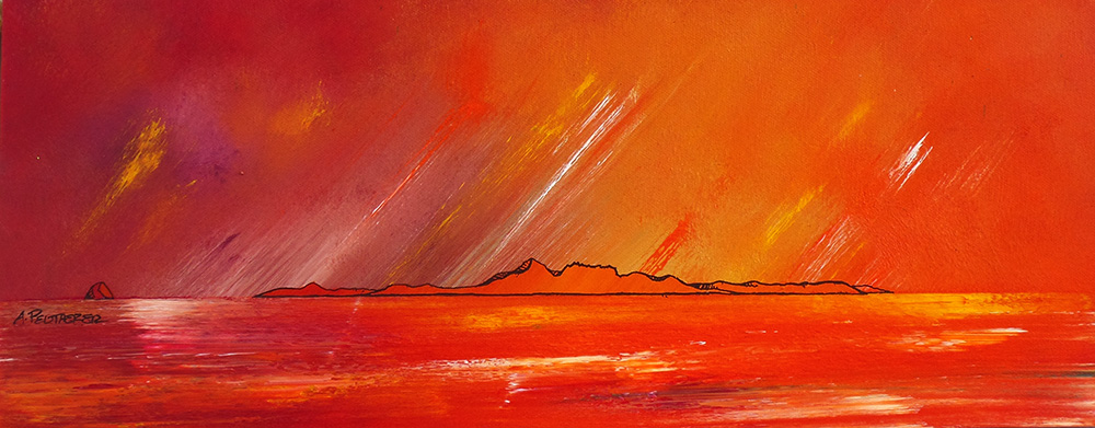 Original painting & prints of Arran, Firth Of Clyde, Arran & Ailsa Craig, Ayrshire, Scotland