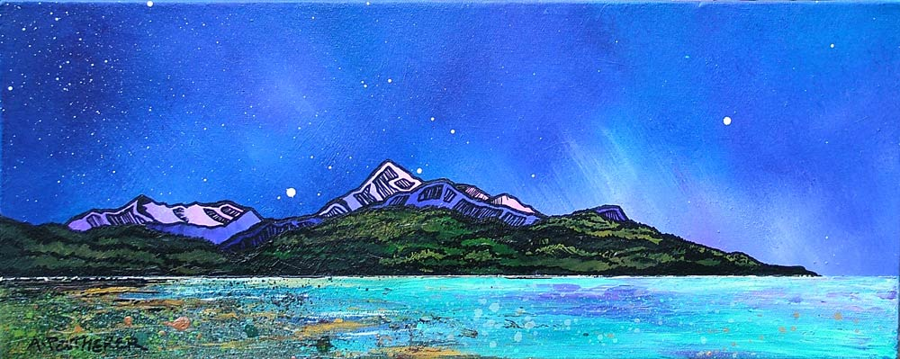arran. brodick, Ayrshire, Scotland Painting and prints.