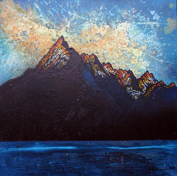 Cuillin 2, Winter Sunset, Cuillin mountains, Isle Of Skye, Scotland